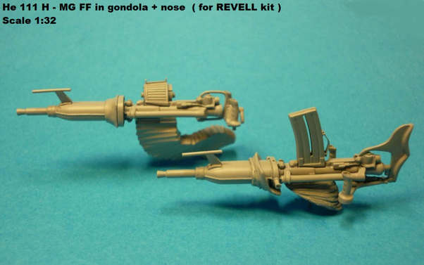MGFF nose stand for He111 (Revell)  320293