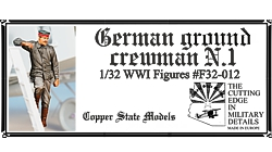WW1 German Ground Crewman 1  F32-012