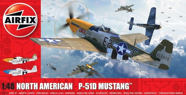 North American P51D Mustang (REISSUE without tail fillet)  05138