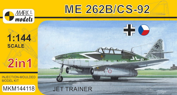 Messerschmitt Me262B / CS92 (Luftwaffe, Czech AF) 2 kit2 included)  MKM144118