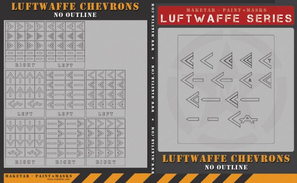 Luftwaffe chevrons without outline  MM32059