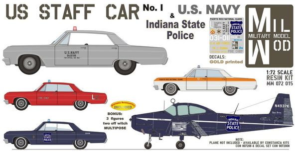 US Staff Car No1 (Chevy Impala '64)  MM072-015