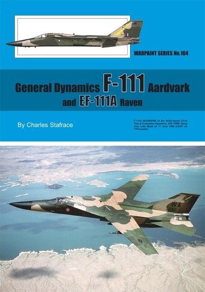 General Dynamics F111 Aardvark and EF111A Raven  WS-104