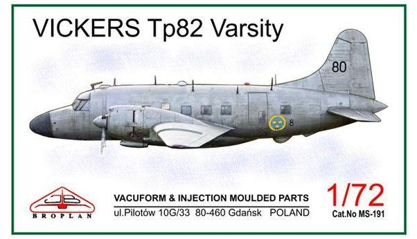 Vickers Tp82 Varsity (Swedish Air Force)  MS-191