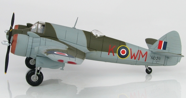 Bristol Beaufighter Mk.VIF (RAF, Sqn Ldr M.J. Mansfeld and Flg Off S. Janacek, ND 211, WM-K, No. 68 Sqn., Fairwood Common Airfield, May 1944)  HA2317