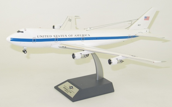 Boeing E4A (United States of America, Airborne Command Post, 73-1677, 'The Flying Whitehouse') With Stand  IFE4A0418
