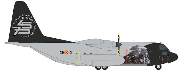 Hercules C130H ( Belgian Air Component 15th Wing 70th) CH-10  559843