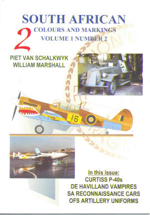 South African Colours & Markings 2 (P40, Vampires)  COLOURS & MARKI