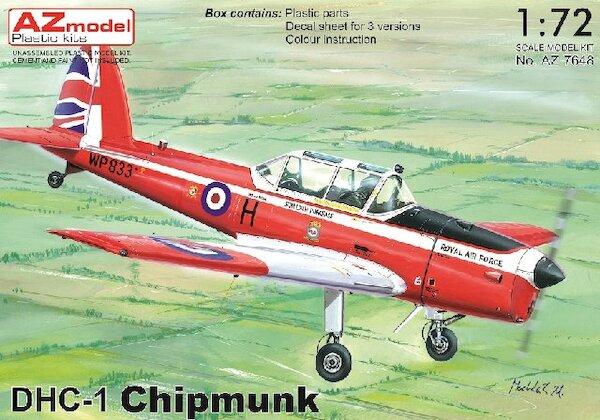 DHC1 Chipmunk (Including Belgian AF)  AZ7650