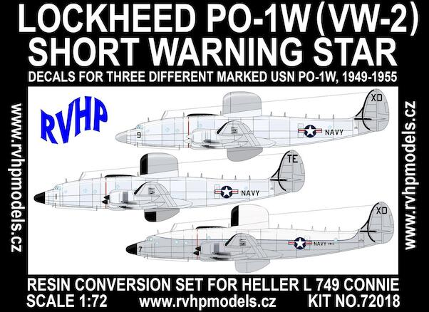 Lockheed PO1W (VW-2) Short Warning Star (Heller L-749)  C7218