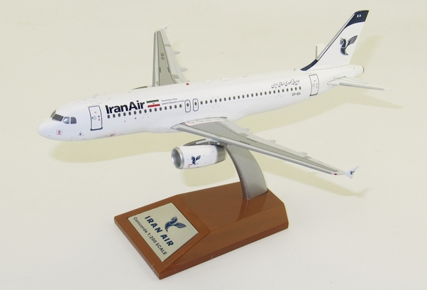 Airbus A320-200 Iran Air EP-IEA  With Stand  Limited 36pcs  JF-A320-017