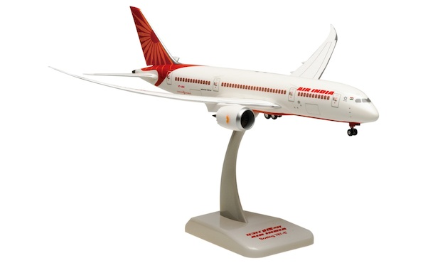 Boeing 787-8 Dreamliner Air India VT-ANA with stand and gears  HG0960