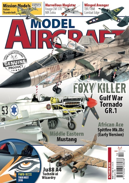 Model Aircraft Vol 17 issue 10 Ocober 2018  9772046538038
