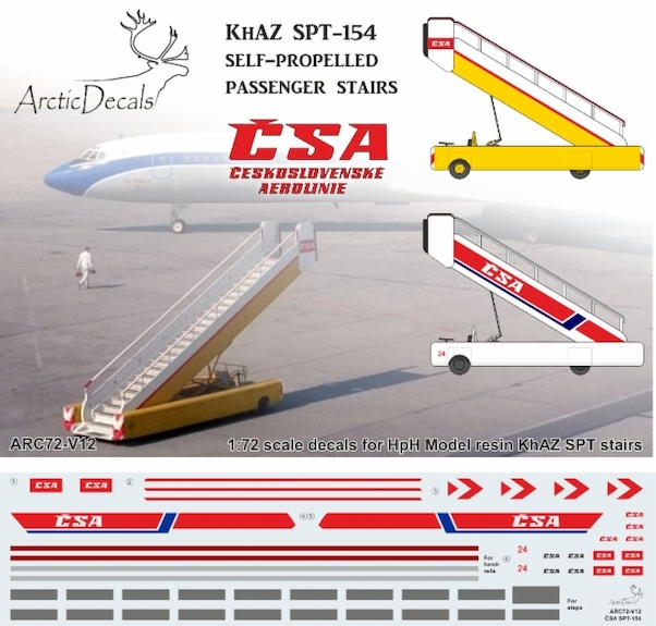 CSA markings for KHAZ SPT-154 Self propelled Passenger stairs (HPH)  ARC72-V12