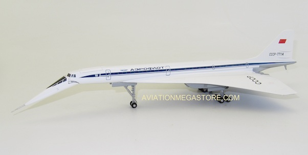 Herpa Wings 1:200 Tupolev Aeroflot CCCP-77114 570633