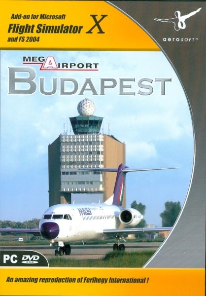 Mega Airport Budapest (download version FSX) (Aerosoft 4015918103923-D)
