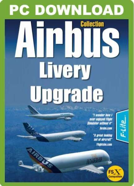Airbus Collection Livery Upgrade Pack (Download version) (Just Flight  J3F000042-D)
