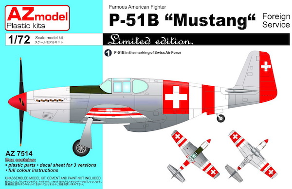 P51B Mustang 'Foreign Service