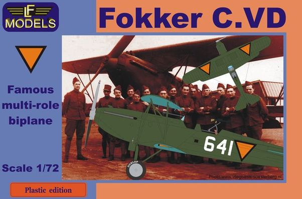 Fokker C.VD Holland part 2. (Triangles)  PE-7202