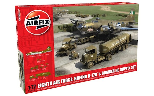 Eight Air Force Boeing B17G Flying Fortress and Bomber Re-Supply set  A12010