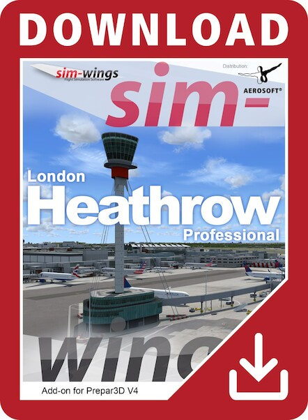 Mega Airport London Heathrow professional (Download version)  14190-D