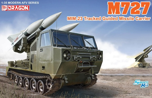 M727 Tracked Guided missile carrier vehicle  with MIM23 Hawk  3583