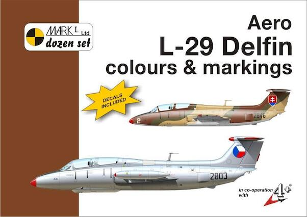 Aero L29 Delfin colours and markings + decals  MKD144007