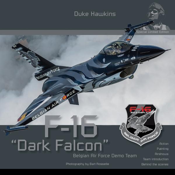 F16 Dark Falcon Belgian Air Fforce Demo Team  DHLE001