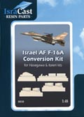 IAF F-16A Netz Conversion kit (REISSUE)  48010