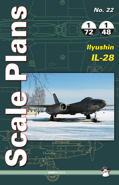 Scale Plans Ilyushin Il-28  9788363678777