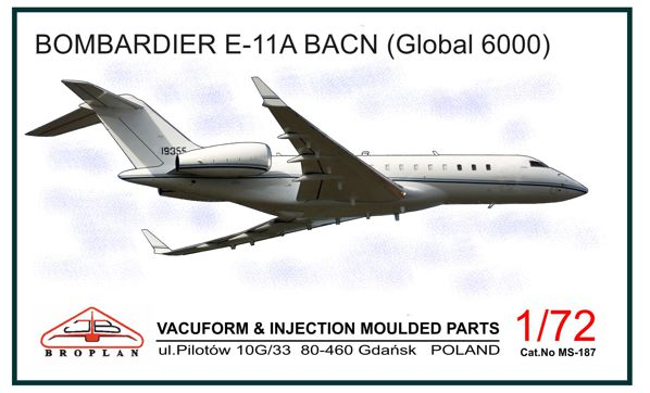 Bombardier E-11A BACN (Global 6000)  MS-187