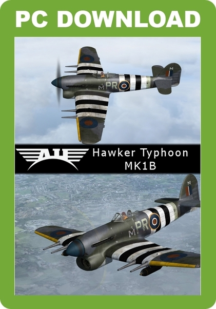 Aeroplane Heaven - Hawker Typhoon (download version) (Just Flight  J3F000204-D)