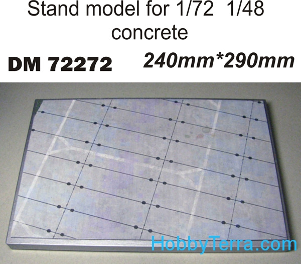 Stand model Old Concrete 240mm x 280mm  DM72272