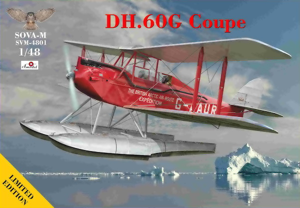 De Havilland DH60G Gipsy Moth Coupe (Polar British expedition )  (Expected February 2021)  SVM-4801