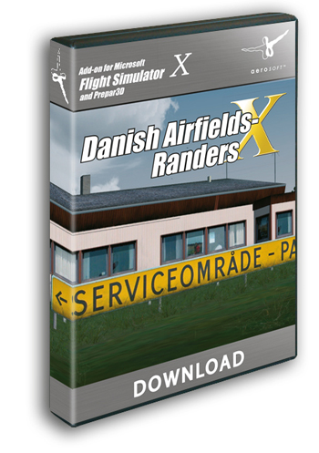 Danish Airfields X - Randers (download version)  13157-D