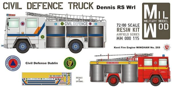 Dennis RS Er1 Civil Defence Truck  MM000-115