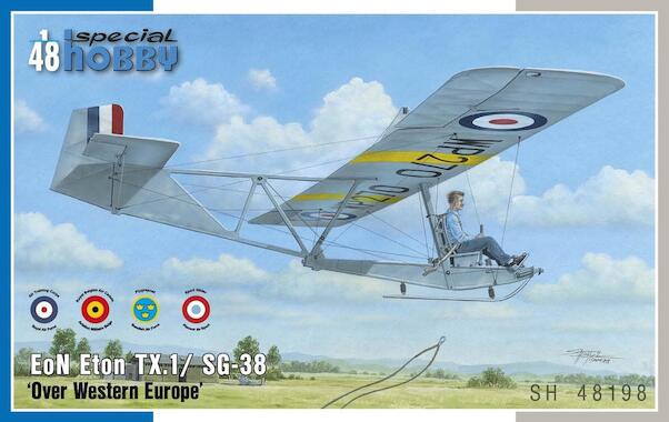 EoN Eton TX1 /SG38 over Western Europe (UK, Sweden, Belgium, France)  sh48198
