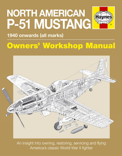 North American P-51 Mustang Manual  9780857338594