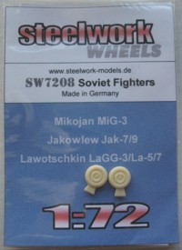 Wheels Soviet fighters (LA3/5/7, MiG3 and Yak 7/9)  SW7208
