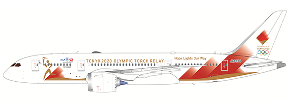 Boeing 787-8 Torch Relay