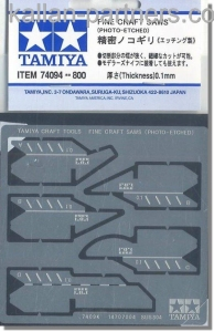 Fine craft Saw (Photo etched)  74094