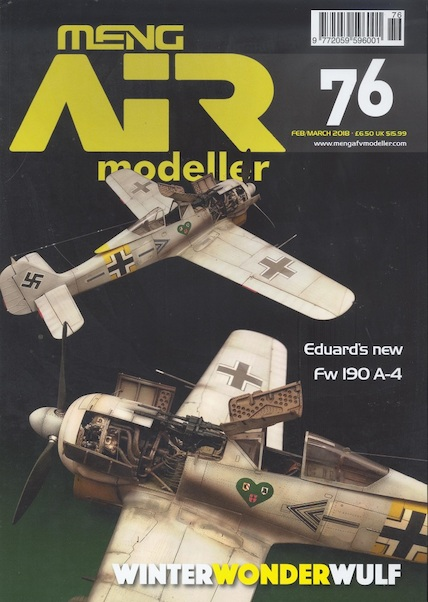 Air Modeller No 76 Feb/March /2018  977205959600176
