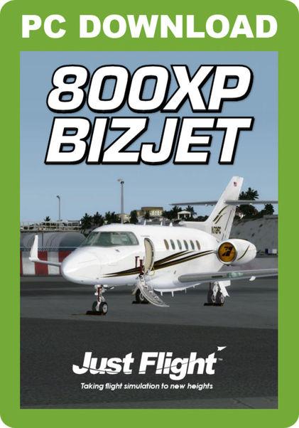 800XP BizJet (download version FSX, P3D) (Just Flight J3F000096-D)