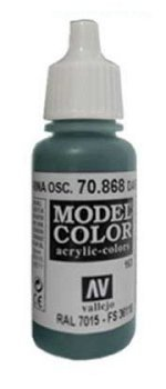 Vallejo Model Color Dark Seagreen (FS36118, RAL7015)  val163