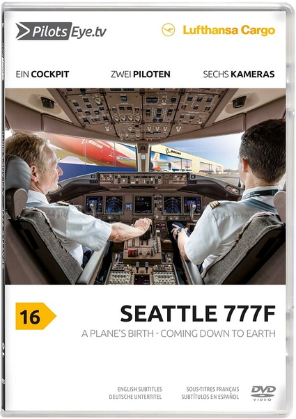 Seattle 777F: A Plane's birth - Coming down to Earth   4260139480265
