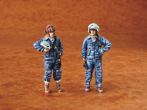 Warsaw Pact Pilots Modern (2 figures  F48086