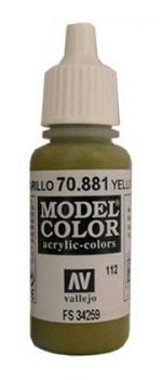 Vallejo Model Color Yellow Green (FS34259)  val112