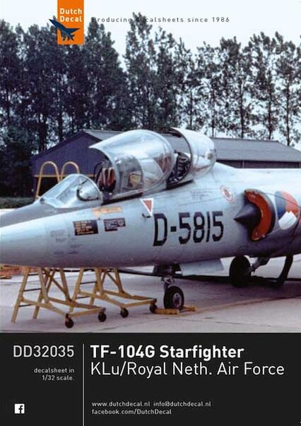 Lockheed TF104G Starfighter (KLu)  DD32035