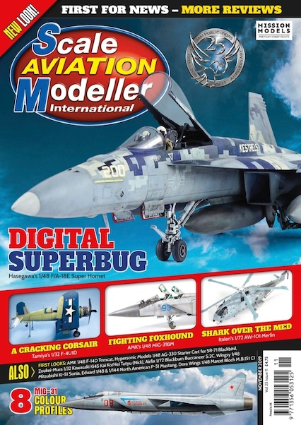 Scale Aviation Modeller Int Vol 25 Issue 11 November 2019  977135605312511