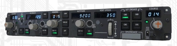 B737 MCP Professional version 2 (CP Flight MCP737PRO2)